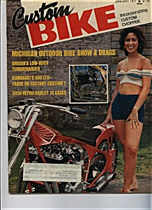 Custom Bike - January 1977 (Image1)