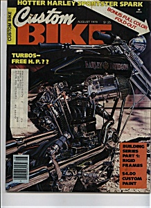 Custom Bike - August 1978 (Image1)