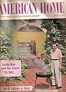The American Home magazine -  June 1956 ED SULLIVAN (Image1)