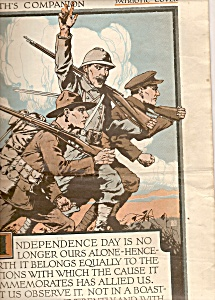 The Youth's companion magazine - July 4, 1918 (Image1)
