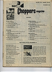 Choppers Magazine - December 1972 (Image1)