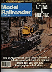 Model Railroader - January 1983 (Image1)