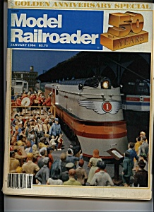 Model Railroader = January 1984 (Image1)
