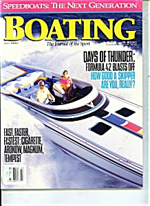 Boating Magazine -   July 1990 (Image1)