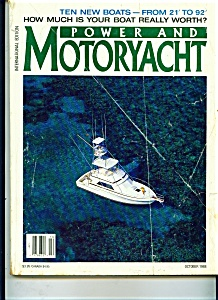 Power And Motoryacht Magazine - October 1988