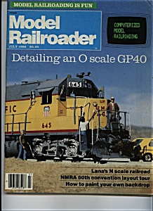 Model Railroader - July 1985 (Image1)