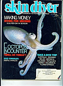 Skindiver magazine -  October 1987 (Image1)