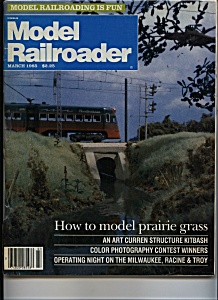 Model Railroader - March 1985 (Image1)