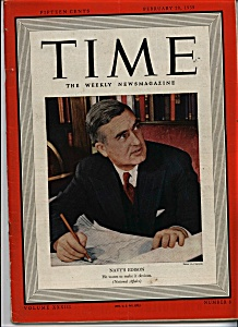 Time - February 20, 1939