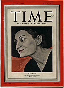Time - July 24, 1939
