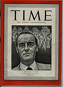 Time - March 16, 1942