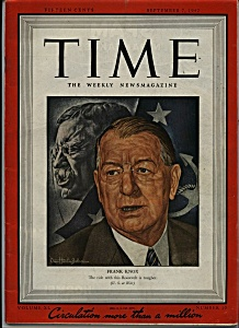 Time Magazine - September 7, 1942 (Image1)