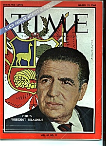 Time March 12, 1965