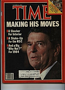 Time - October 24, 1983