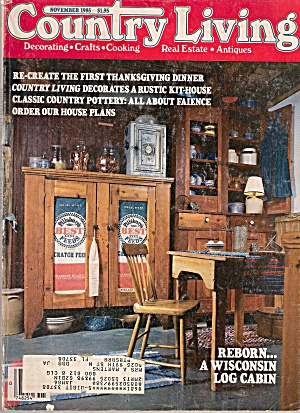 Country Living - November 1985