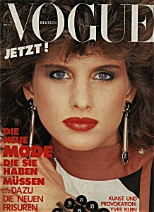 GERMAN VOGUE MAGAZINE - February 1983 (Image1)