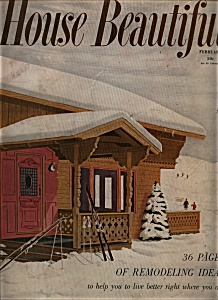 House Beautiful - February 1952 (Image1)
