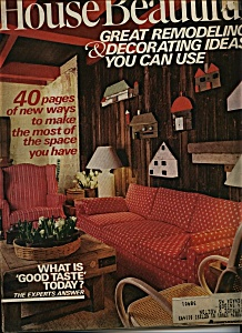 House Beautiful -  May 1972 (Image1)