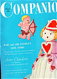 Woman's Home Companion -  February 1955 (Image1)