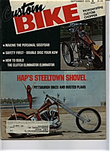 Custom Bike - September 1976 (Image1)