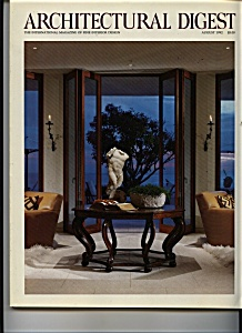 Architectural Digest - August 1992 (Image1)