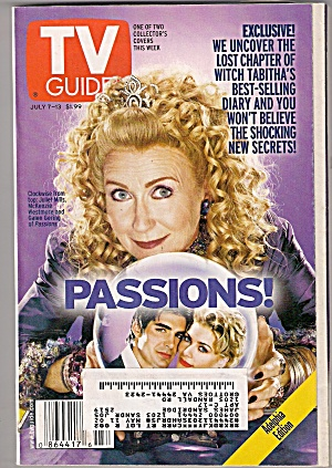 Tv Guide - July 7 To July 13, 2001