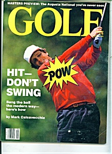Golf magazine - April 1990 (Image1)