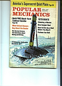 Popular Mechanics - March 1970 (Image1)