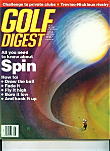 Golf Digest magazine - May 1990 (Image1)