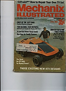 Mechanix Illustrated - September 1971 (Image1)