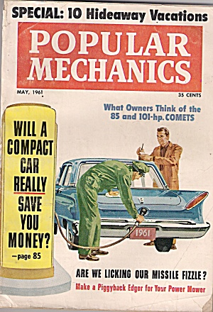 Popular Mechanics - May 1961 (Image1)