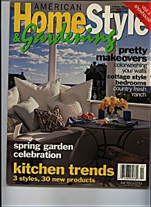 American Home Style & Gardening - April/May 1996 (Image1)