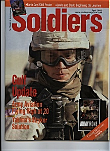 Soldiers US MILIATARY Magazine - April 2003 (Image1)