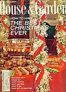 House & Garden Magazine - December  1968 (Image1)