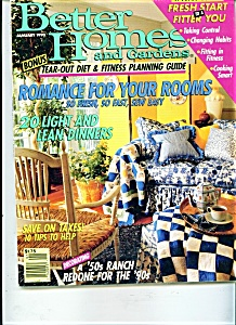 Better Homes and Gardens - January 1990 (Image1)