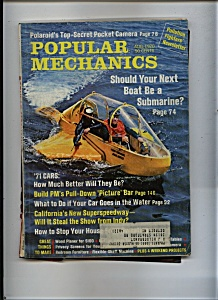 Popular Mechanics - August 1970 (Image1)