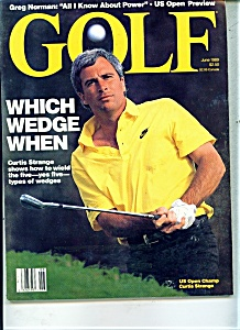 Golf magazine - March 1990 (Image1)