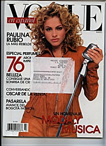 Vogue SPANISH MAGAZINE -  March 2003 (Image1)