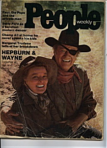 People Weekly - November 18, 1974