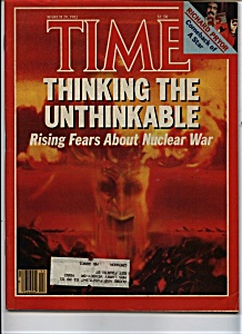 Time Magazine - March 29, 1982