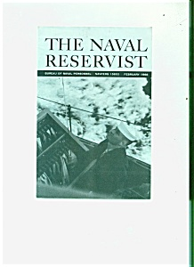 The Naval Reservist booklet - February 1968 (Image1)