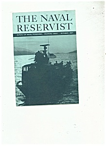 The Naval Reservist Booklet - October 1987