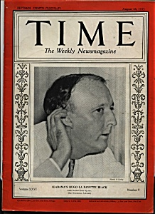 Time Magazine- August 26, 1935 (Image1)