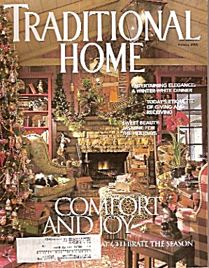 Traditional Home magazine -  Holiday 2000 (Image1)