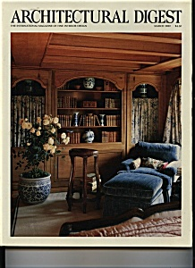 Architectural  Digest - March 1989 (Image1)