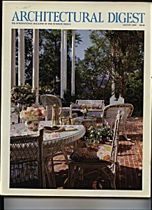 Architectural Digest - August 1989 (Image1)