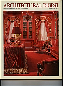 Architectural Digest - February 1990 (Image1)
