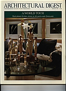 Architectural Digest - January 1993 (Image1)