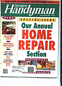 The Family Handyman - July/august 1994