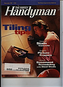 The Family Handyman - November 1997 (Image1)